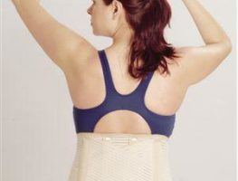 corset elastic lumbostat