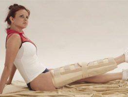 orteza imobilizare completa genunchi