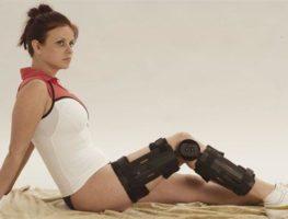 orteza imobilizare genunchi cu unghi reglabil